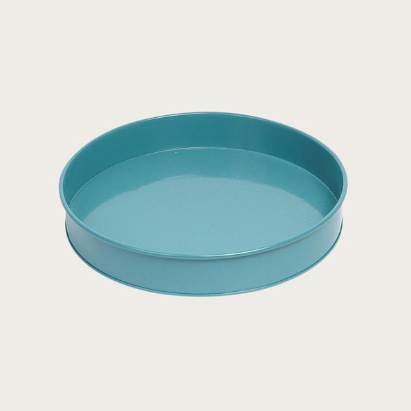 Ida Round Tray in Green