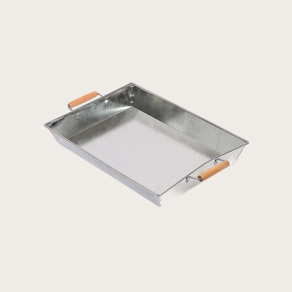 Annie Galvinized Metal Tray