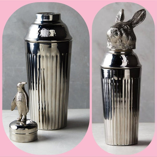 Rabbit Cocktail Shaker in Stainless Steel