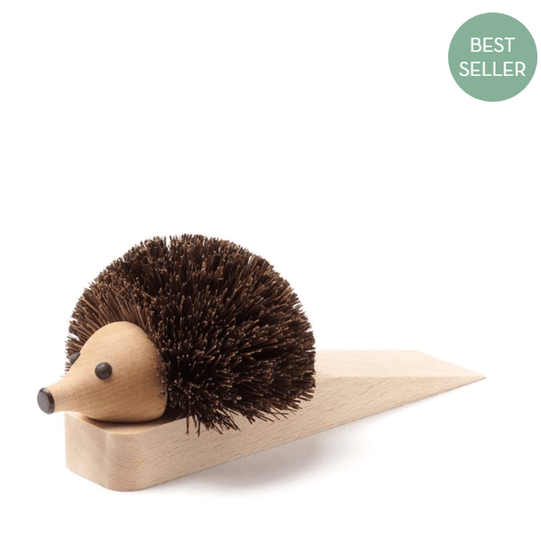 Hedgehog Door Stop by Redecker