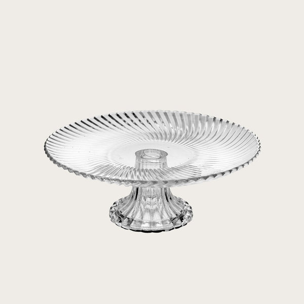 Ernest Small Glass Presentation Cake Stand