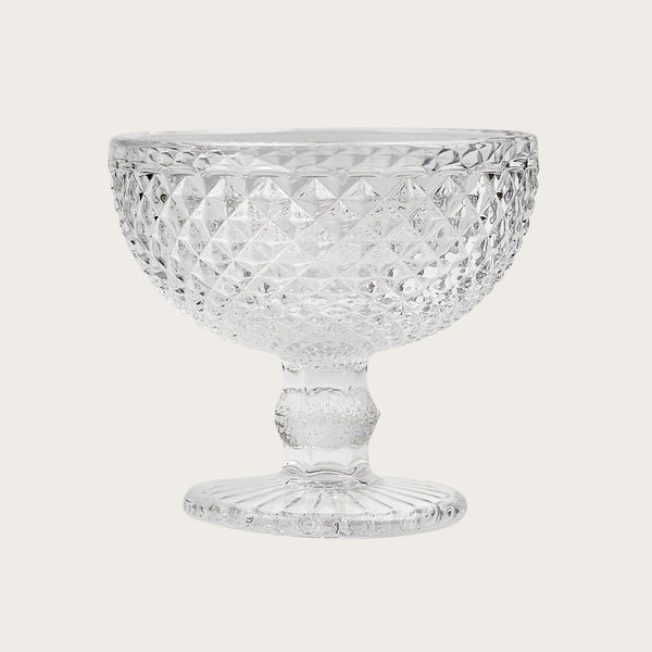 4 x Pierre Dessert Goblets Bowl in Clear
