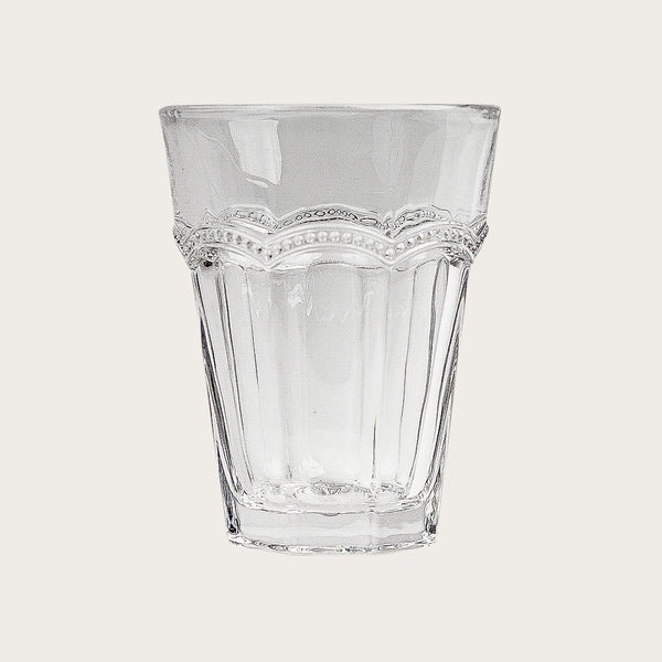 Jeanson Detailed Tumbler in Clear