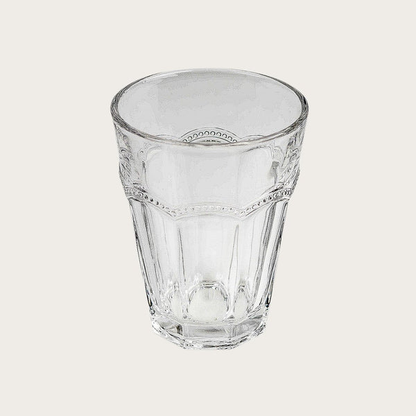 6 x Jeanson Detailed Tumbler in Clear