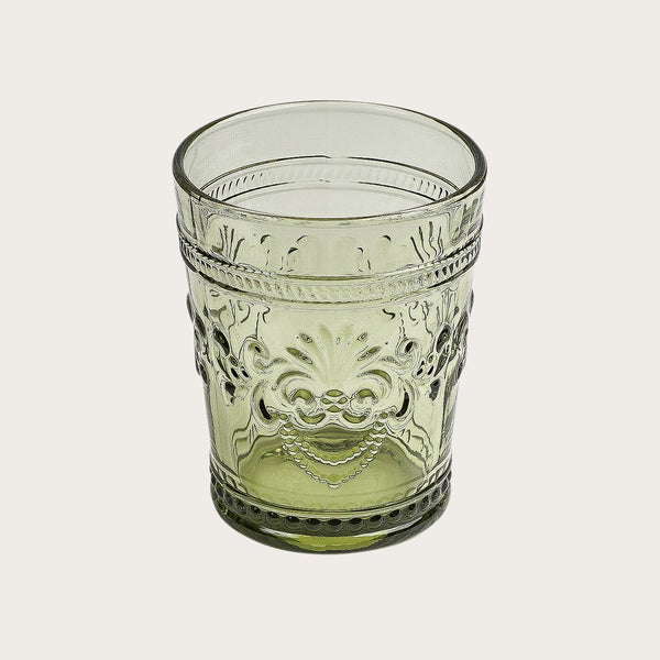 6 x Satine Vintage Tumbler in Green