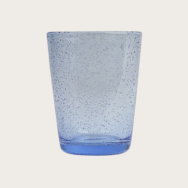 Marcel Bubbled Tumbler in Blue