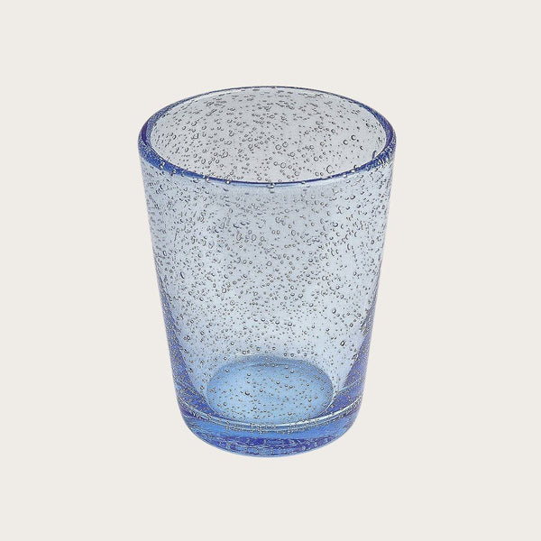 Set of 6 Bubbled Tumbler in Blue