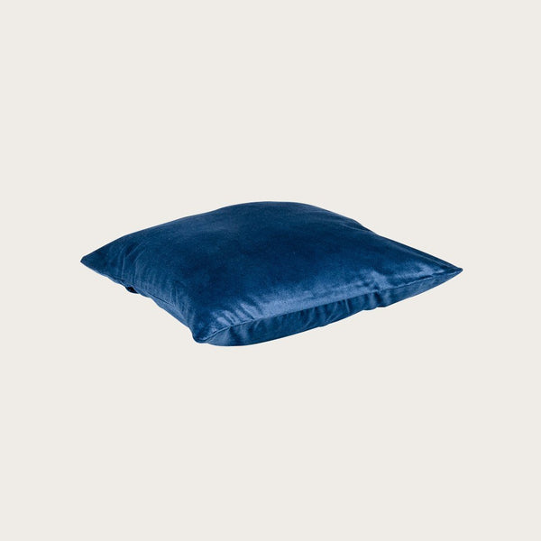 Taj Velvet Cushion Cover in Regal Blue