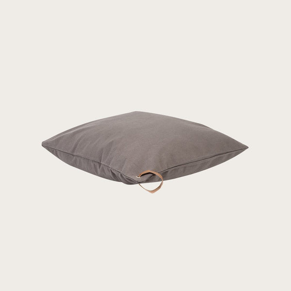 Potala Cushion Cover in Charcoal Grey