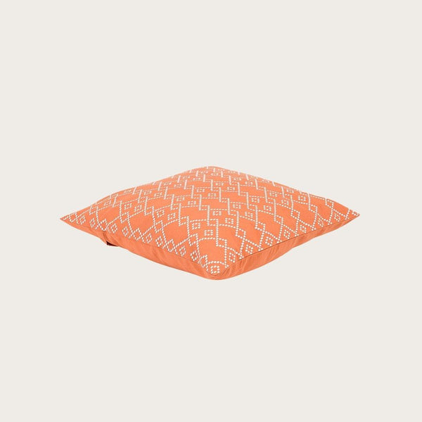 Trianon Cushion Cover in Burnt Orange