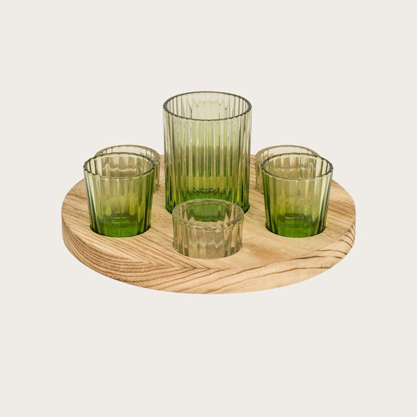 Valentina Six Candle Holder Set