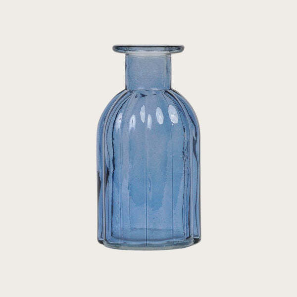 Lucia Glass Vase in Blue