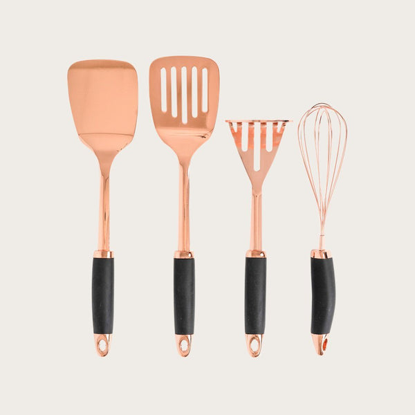 Salian Copper Soft Grip Potato Masher
