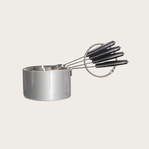 Frank Set of 4 Stainless Steel Measuring Cups