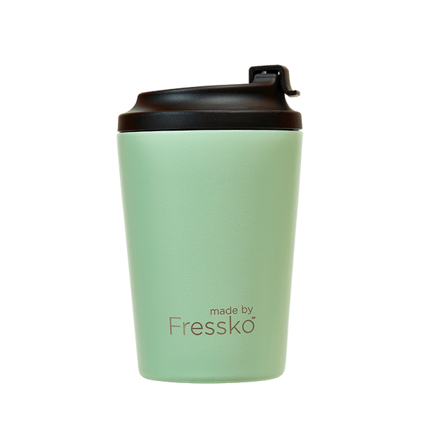 Large Reusable Insulated Coffee Cup by Fressko 340ml in Mint