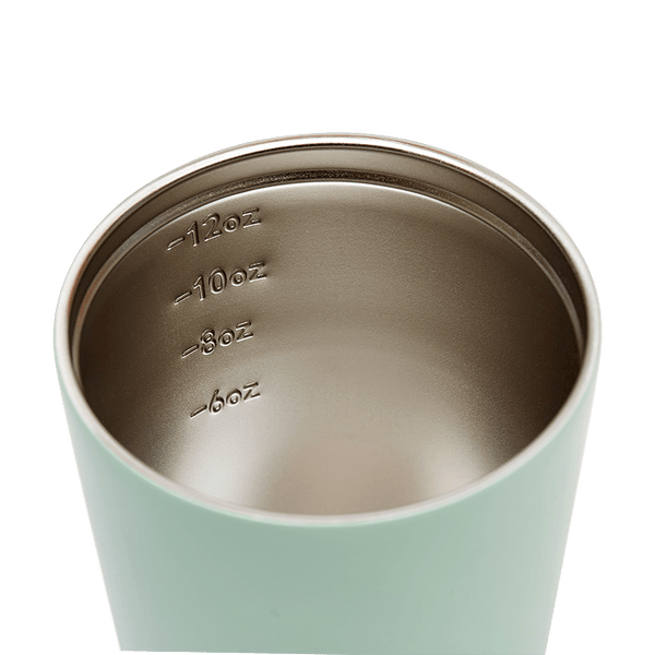 Small Reusable Insulated Coffee Cup by Fressko 227ml in Mint