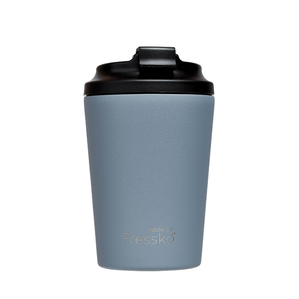 Large Reusable Insulated Coffee Cup by Fressko 340ml in Blue