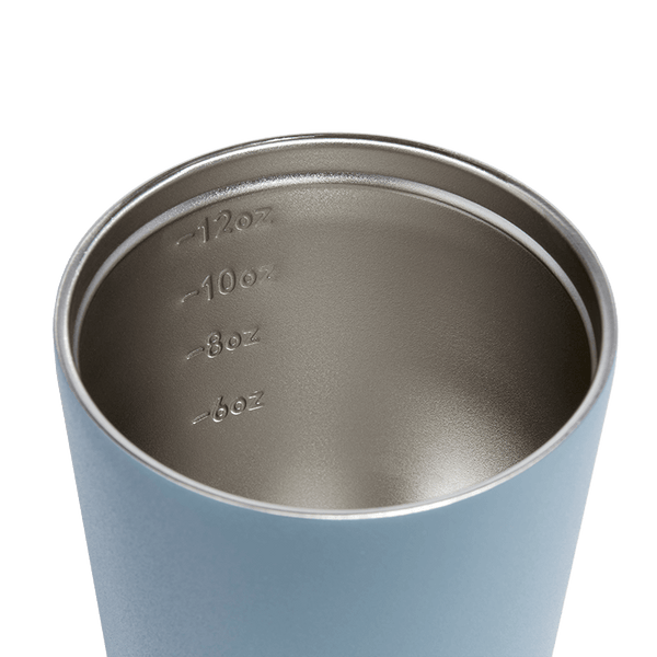 Small Reusable Insulated Coffee Cup by Fressko 227ml in Blue