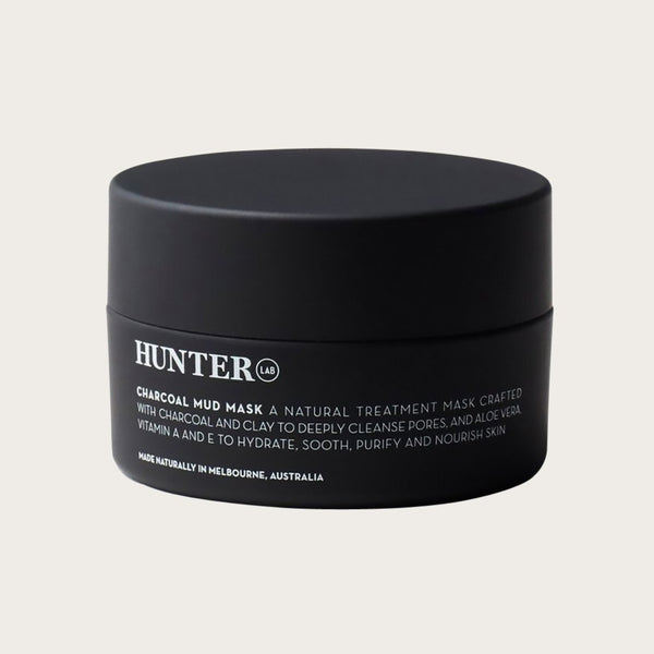 Charcoal Mud Mask by Hunter Lab