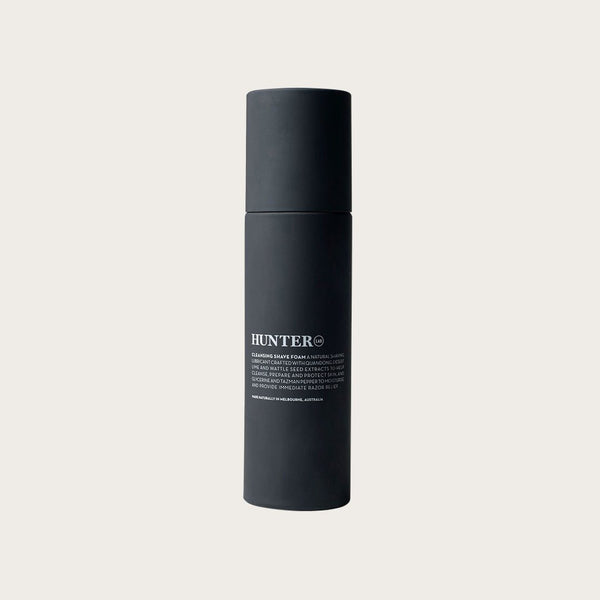Cleansing Shave Foam by Hunter Lab