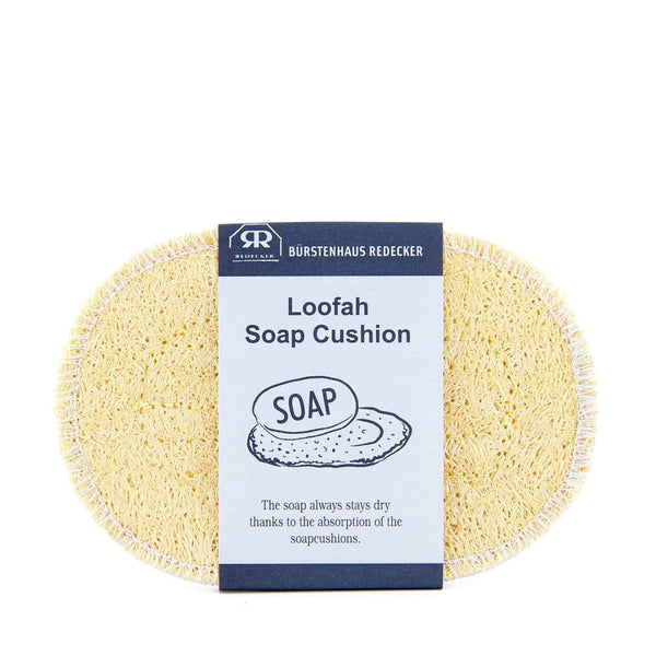 Loofah Soap Cushion by Redecker