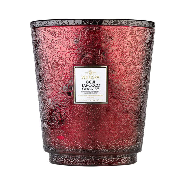 Goji Tarocco Orange 250hr Hearth Candle by Voluspa