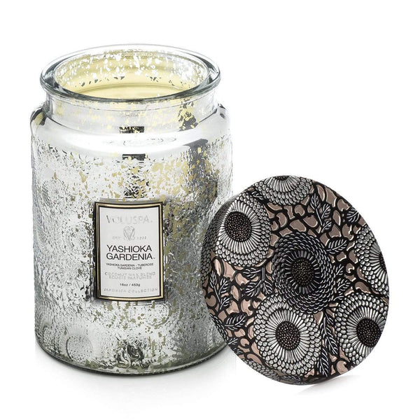 Yashioka Gardenia Candle 100hr Candle by Voluspa