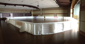 Mite Size ProWall Rink System - Custom Color