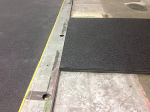 "ProDeck Floor Cover - 48"" x 96"" x 1"" FasCoat Top/Solid-Bottom Sheets"