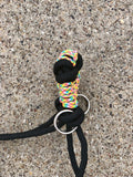Side Pull Rope Halter- Rainbow