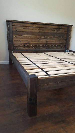 Charlie Four Post Platform Bed