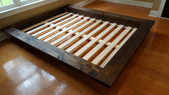 Tori Floating Platform Bed
