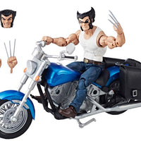 MARVEL LEGENDS: WOLVERINE W/ MOTORCYCLE