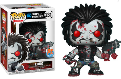 FUNKO POP! HEROES: DC COMICS - LOBO & BLOODY LOBO PX EXCLUSIVE