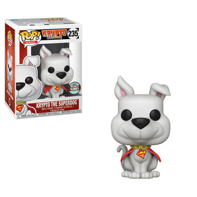 FUNKO POP! HEROES: DC - KRYPTO THE SUPERDOG SPECIALTY SERIES EXC