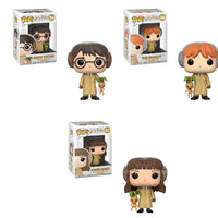 FUNKO POP! MOVIES: HARRY POTTER - HARRY, RON & HERMIONE BUNDLE