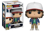 FUNKO POP! TV: STRANGER THINGS - DUSTIN EXCLUSIVE (MINOR BOX DAMAGE)