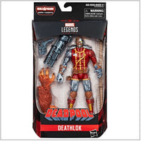 MARVEL LEGENDS: DEADPOOL - WAVE 1 SET OF 7 ACTION FIGURES