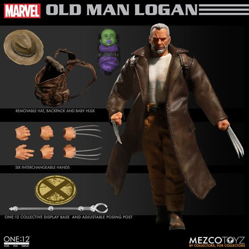 MEZCO TOYS ONE:12 COLLECTIVE FIGURES - MARVEL - OLD MAN LOGAN