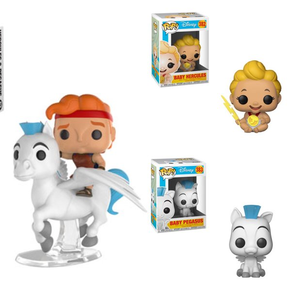 FUNKO POP! DISNEY: HERCULES - HERCULES BUNDLE