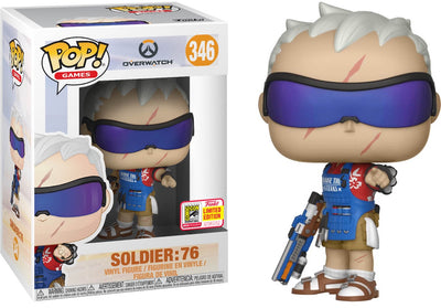 FUNKO POP! GAMES: OVERWATCH - SOLDIER 76 GRILLMASTER (Summer Convention)