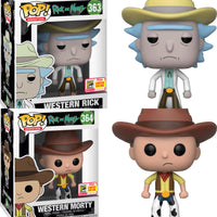FUNKO POP! ANIMATION: WESTERN RICK & MORTY (Summer Convention)