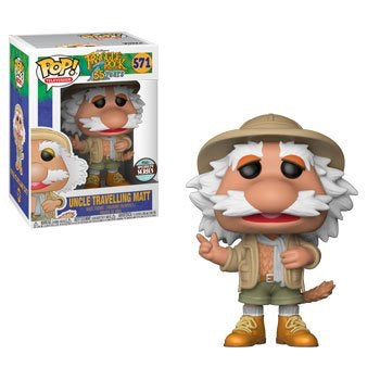 FUNKO POP! TV: FRAGGLE ROCK  - UNCLE TRAVELLING MATT SPECIALTY SERIES EXC