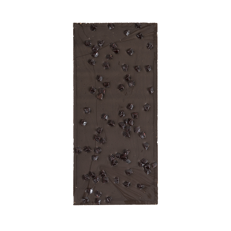 Dark Chocolate 70% with Strawberry - Sirigaita, Chocolate Negro 70% com Morango