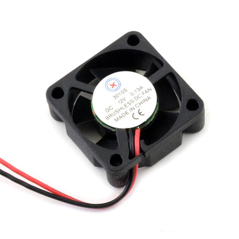 30mm x 10mm Brushless Cooling Fan 3010 for V6 Hotend (12V or 24V)