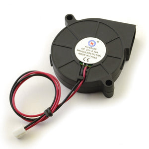 24V 50mm Blower Turbo Fan 5015 50x50x15mm cooling PLA RepRap 3D Printer