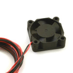 12V 30mm 0.13A Cooling Fan S3010 for 3D Printer V6 Hotend (1 Meter Wiring)
