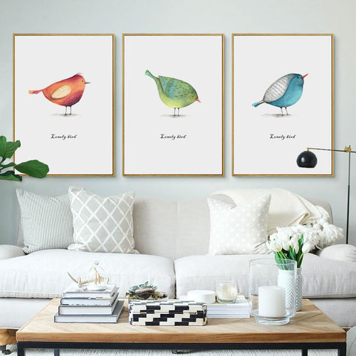 Solo Bird Prints