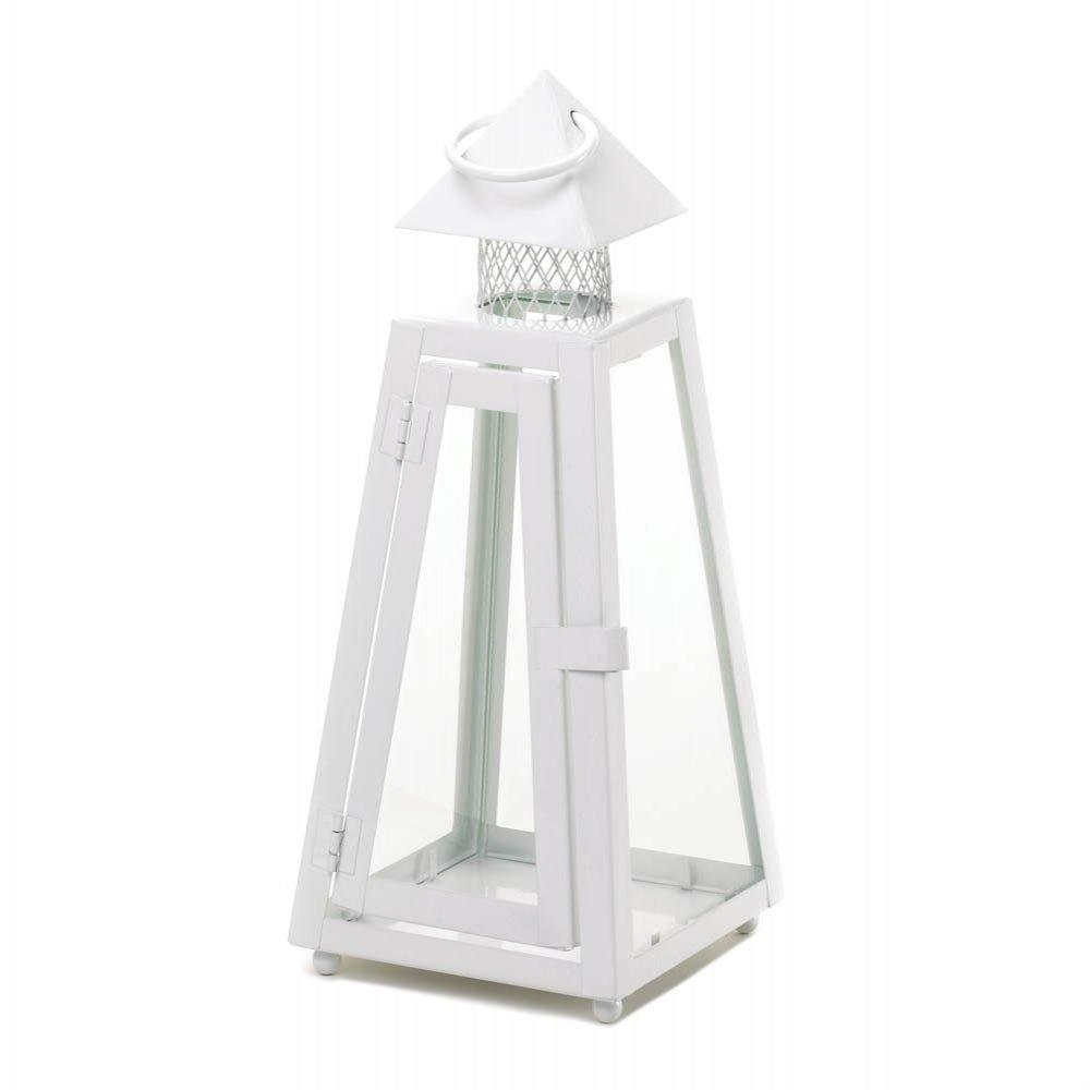 White Coastal Lantern Small