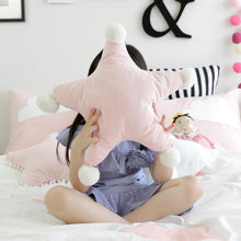 Cute White Cloud and Pink Star Cushions